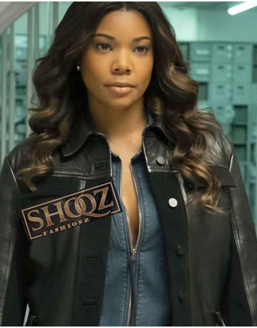 L.A.'s Finest Sydney Burnett Black Leather Jacket