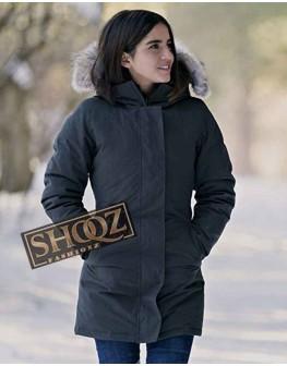 Let It Snow Isabela Moner Grey Coat With Hood