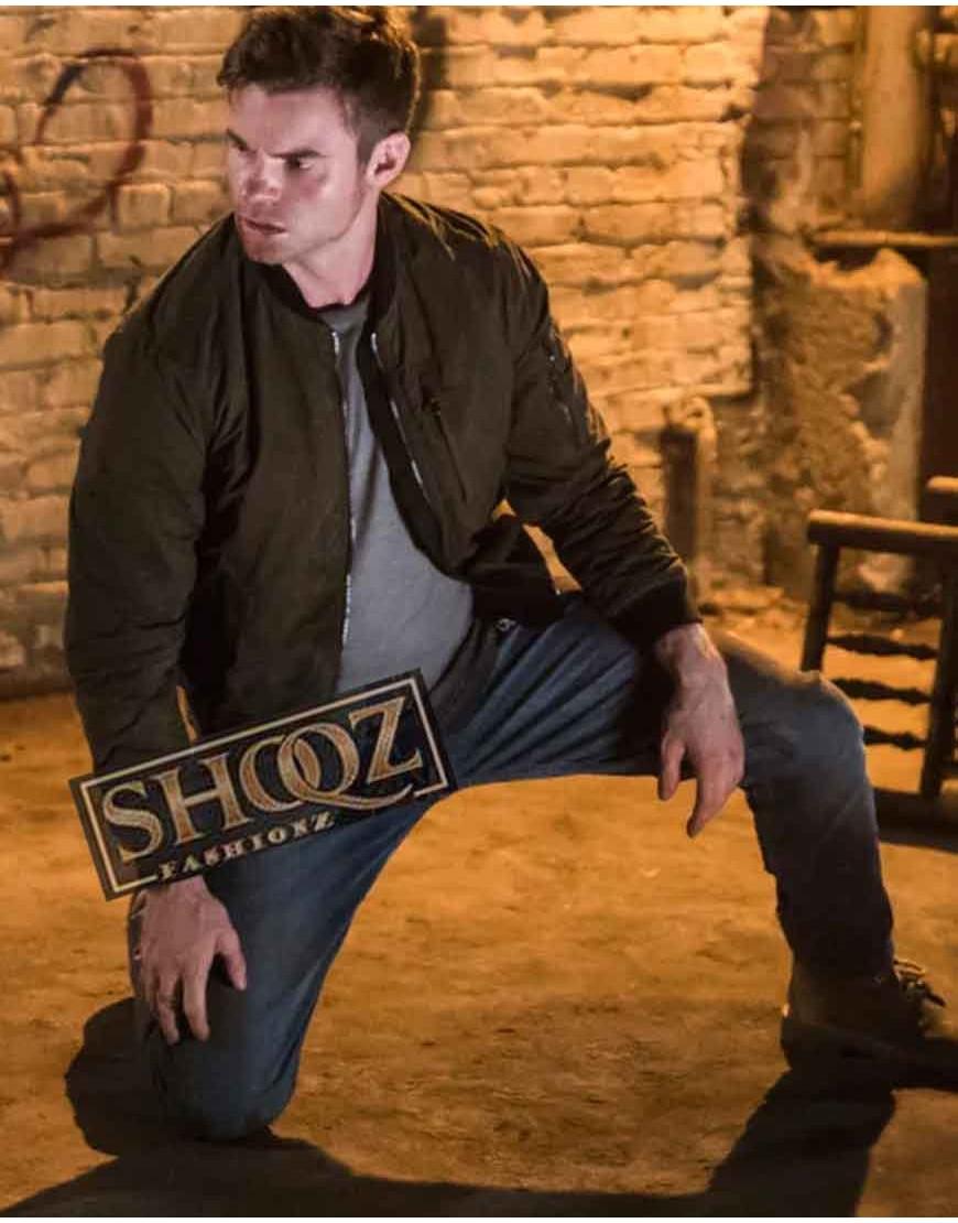 The Originals Elijah Mikaelson Green Jacket