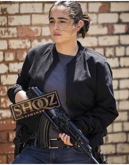 The Walking Dead Alanna Masterson Black Jacket