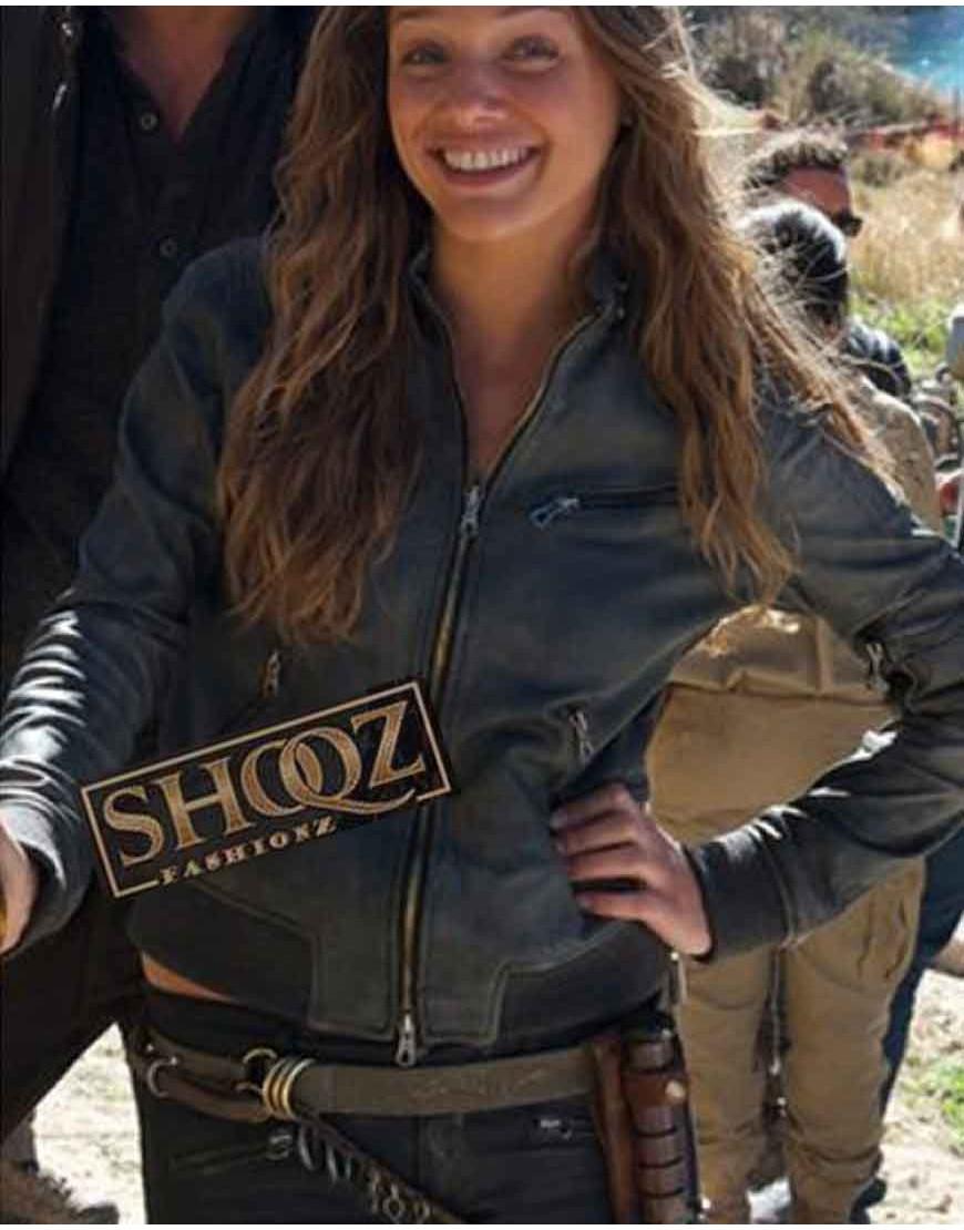 Revolution Tracy Spiridakos Black Jacket