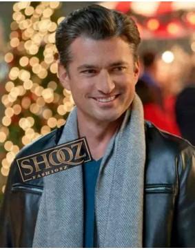 A Nashville Christmas Carol Gavin Chase Leather Jacket