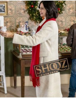 Joan Meet Me at Christmas Catherine Bell Trench Coat