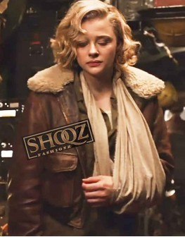 Chloe Grace Mortez Shadow In The Clouds Brown Jacket
