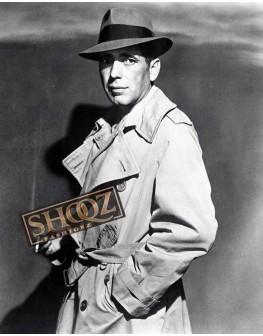 Humphrey Bogart Casablanca Rick Blaine Trench Coat