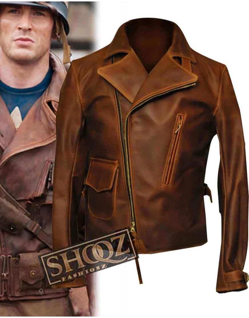 First Avenger Captain America (Steve Rogers) Jacket