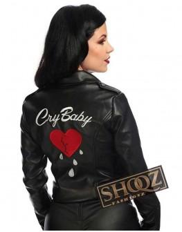 Cry Baby Amy Lokin Leather Jacket