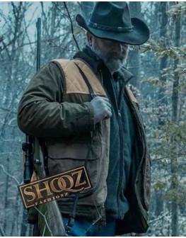 Ozark Peter Mullan (Jacob Snell) Suede Jacket