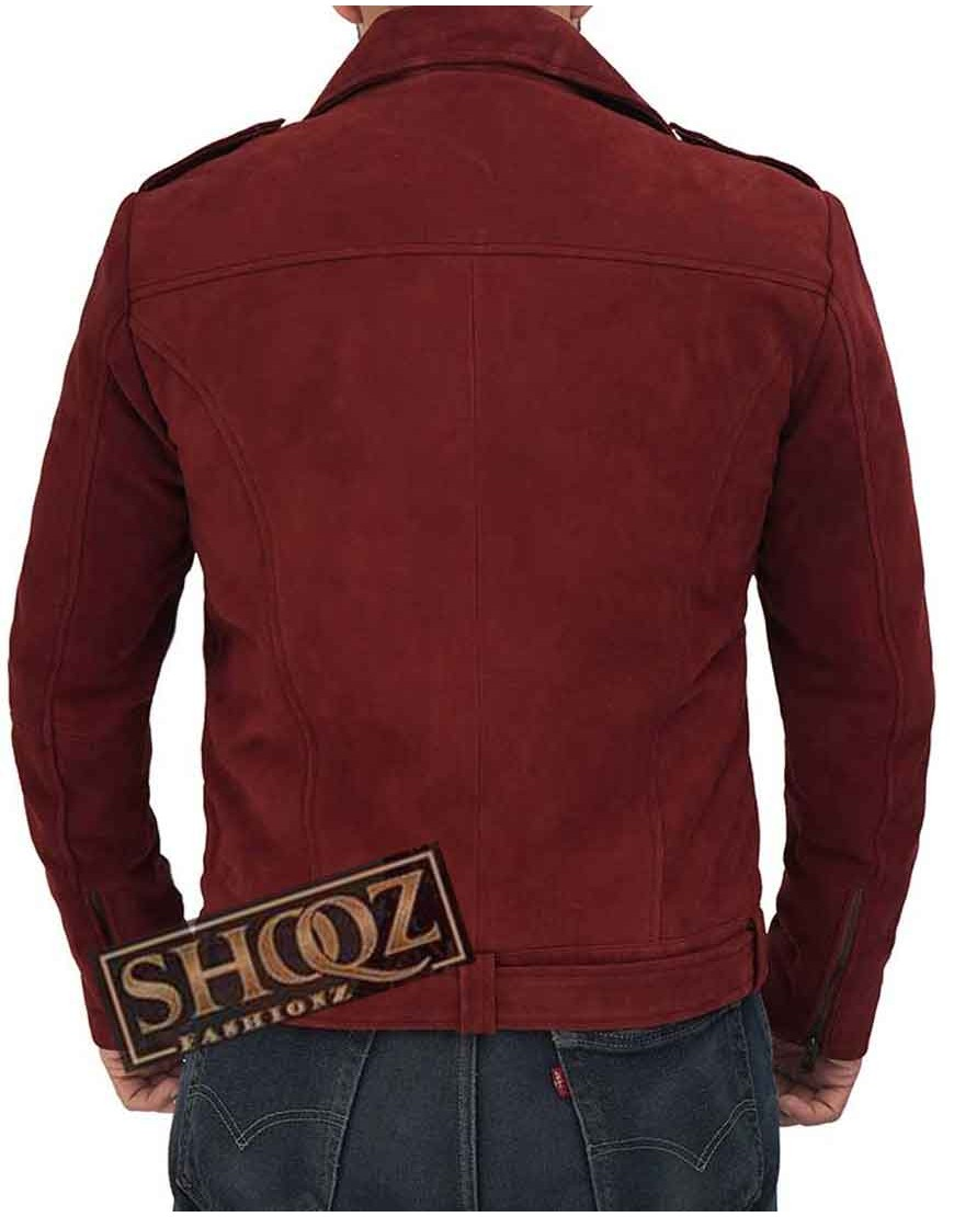 Sean Men's Asymmetrical Biker Leather Jacket
