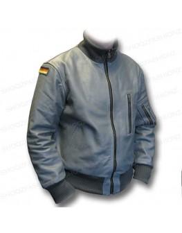 German Flag Luftwaffe Flight Leather Jacket