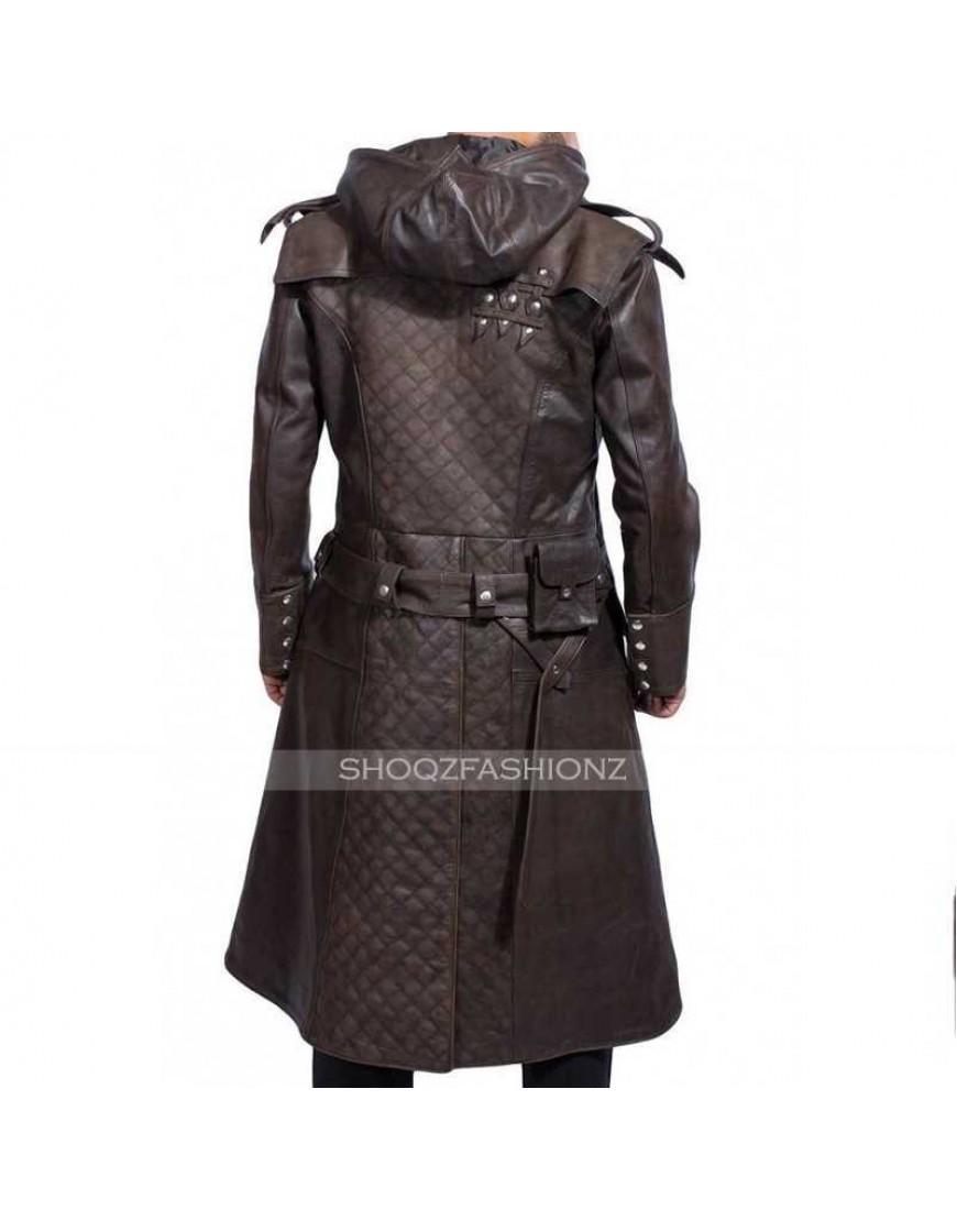 Assassin's Creed Syndicate Jacob Frye Leather Coat