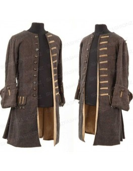 Pirates of the Caribbean Captain Jack Sparrow Jacket