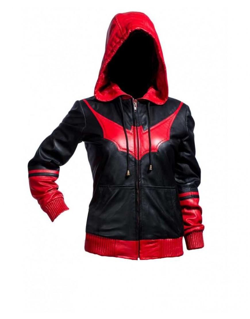 Gotham City Batwoman Katherine Kane Leather Jacket