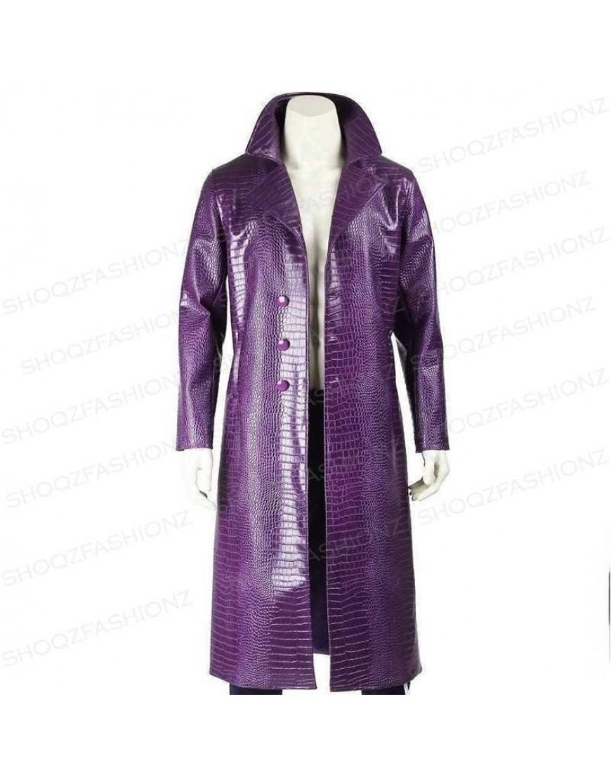 Joker Artificial Leather Coat