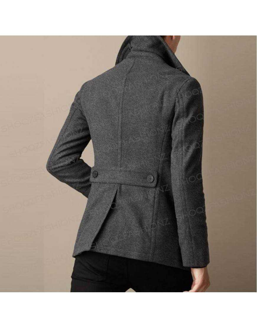 Men's Slim Fit Wool Blazer Jacket