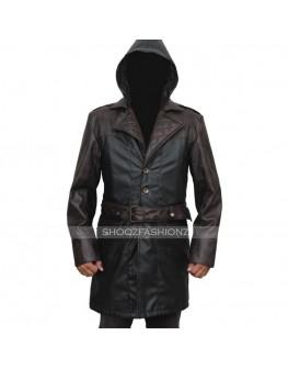 Assassins Creed Syndicate Jacob Frye Costume Leather Coat
