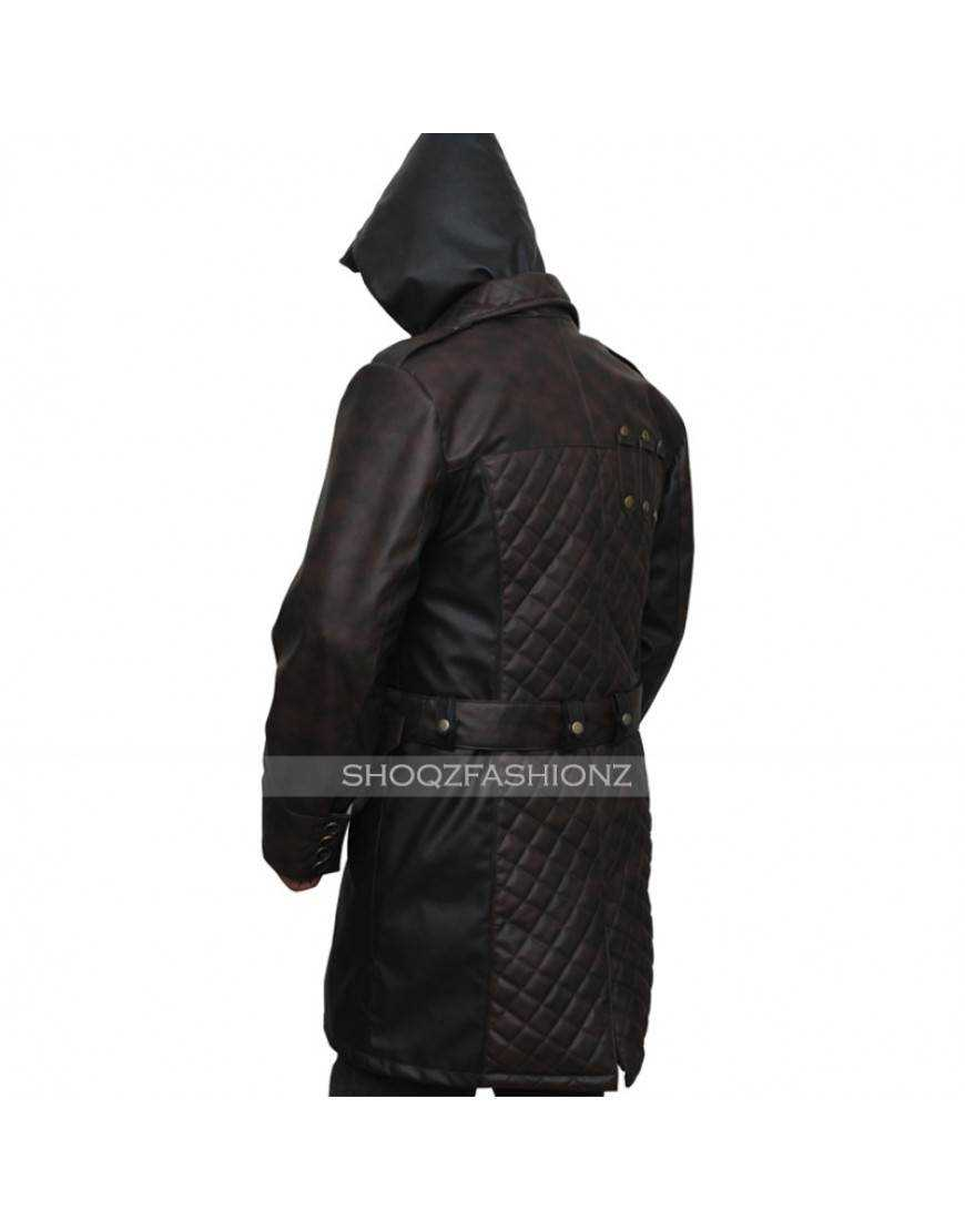 Assassins Creed Syndicate Jacob Frye Costume Leather Coat