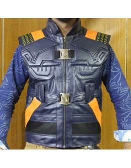 Avengers faux leather vest